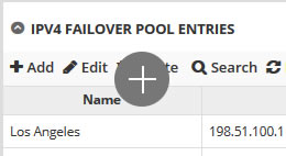DNS Failover Pools