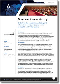 Case Study: Marcus Evans Group