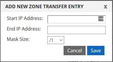 add IP address or range