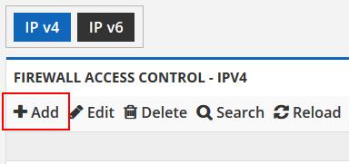 add firewall access control ipv4