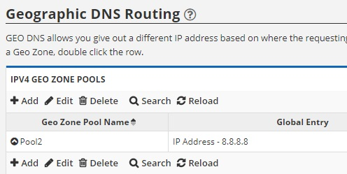 geographic dns routing