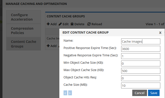 Static and Dynamic Edge Caching